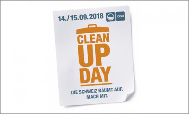 Claudio Zuccolini, Schirmherr Clean-Up-Day 2018
